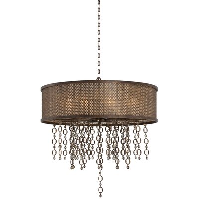 Ajourer 10-Light Drum Pendant