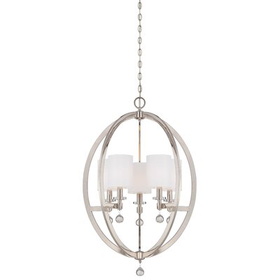 Chadbourne 5-Light Globe Pendant