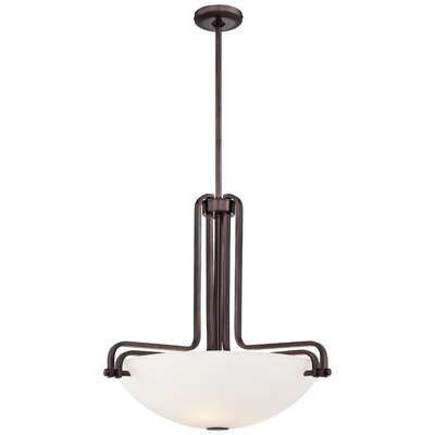 Industrial 3-Light Bowl Pendant N6623-590