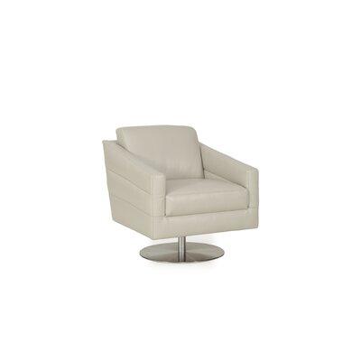 Eagle Full Top Grain Arm Chair Color: Pale Grey