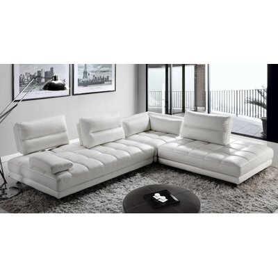 Teva Full Leather Sectional