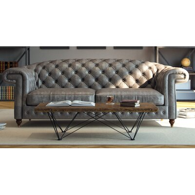 Erandi Top Grain Classical Sofa