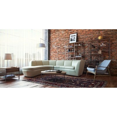 Filander Top Grain Contemporary Modular Sectional