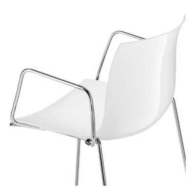 Catifa 46 Side Chair Color: White