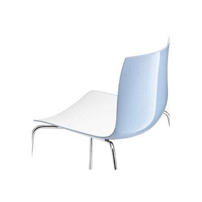 Catifa 46 Side Chair Color: Two Tone-Light Blue