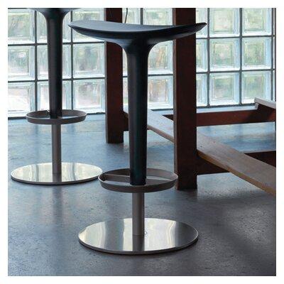 Babar 25.6 Swivel Bar Stool Upholstery: Black