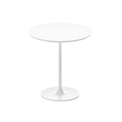 Dizzie End Table Finish: White