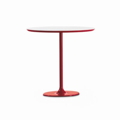 Dizzie End Table Finish: Red