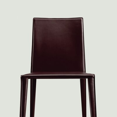 Low Price Arper Norma Mid-Back Dining Chair Upholstery: Black