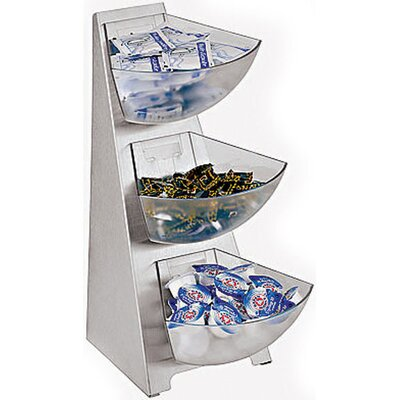 Paderno World Cuisine 3 Compartment Stainless Steel Stand 41911-03