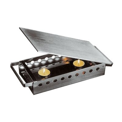 Plate / Dish Warmer in Stainless Steel Size: L 17 3/4