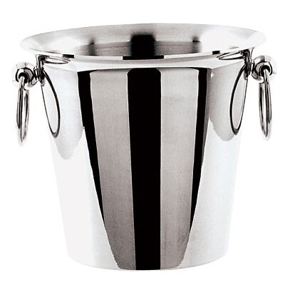 Wine Bucket In Stainless Steel Size-dia 7 7/8 X H 8 1/4