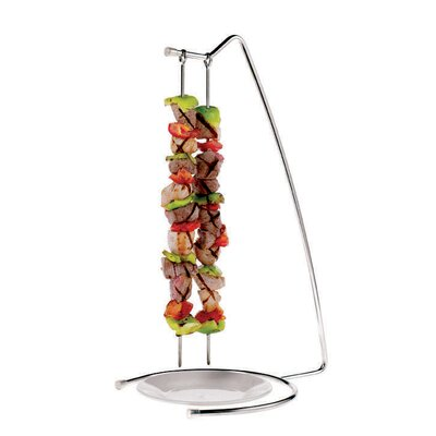 Paderno World Cuisine Stainless Steel 4-Skewer Stand 42417-22