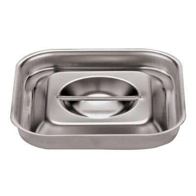 Lid For Bain-marie In Silver Size-9 1/2 Square