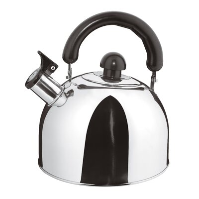 Stainless Steel Whistling Stovetop Kettle Size - Capacity (Quarts): 2 qt. A4191402