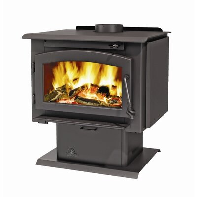 2100 Economizer EPA Wood Burning Stove with Pedestal Base