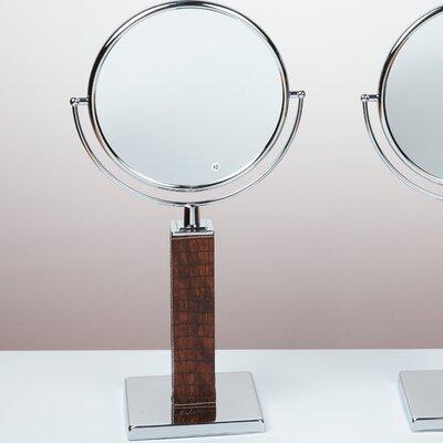 Kosmetic Victoria Patent Croco Makeup Mirror Finish: Copper