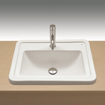 Universal Self Rimming Bathroom Sink