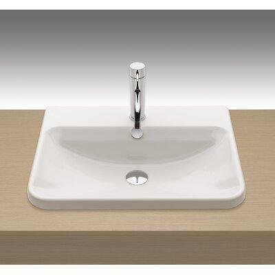 Emma Self Rimming Bathroom Sink