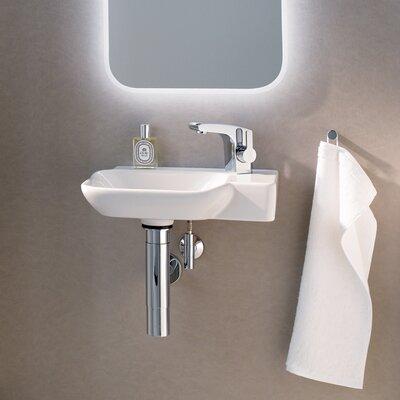 Twins Vitreous China 16 Wall Mount Bathroom Sink