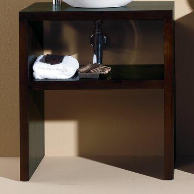 Nava 26 Panticosa Bathroom Vanity Base with Shelf