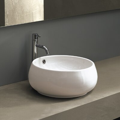 Area Boutique Circular�Vessel�Bathroom�Sink with Overflow