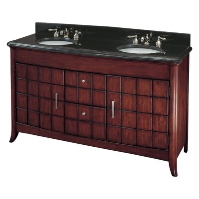62 Double Bathroom Vanity Set