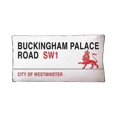 Buckingham Palace Cotton Boudoir/Breakfast Pillow