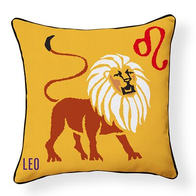 Leo Indoor/Outdoor Throw Pillow