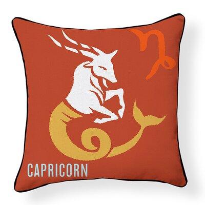 Capricorn Indoor/Outdoor Throw Pillow