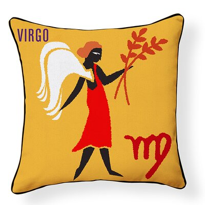 Virgo Indoor/Outdoor Throw Pillow