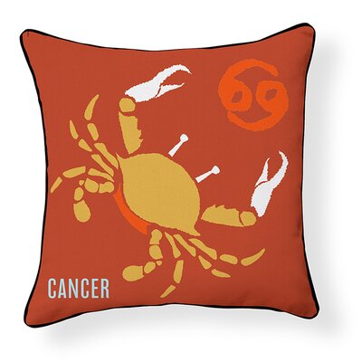 Cancer Indoor/Outdoor Throw Pillow