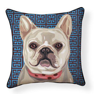 Duren French Bulldog Indoor/Outdoor Throw Pillow