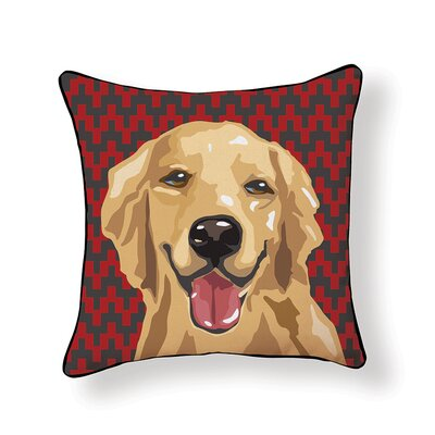 Pooch D�cor Retriever Throw Pillow
