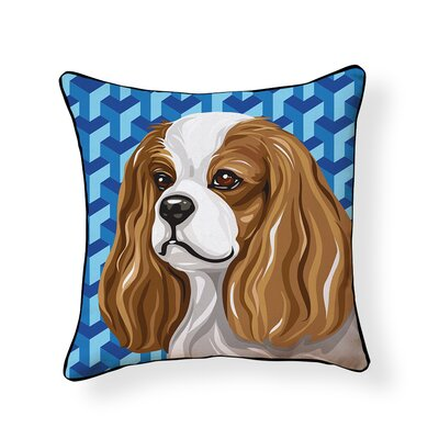Pooch D�cor King Charles Spaniel Throw Pillow