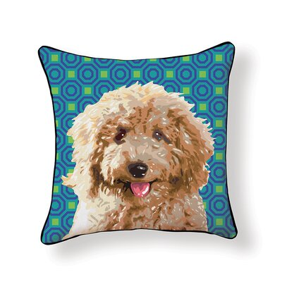 Pooch D�cor Labradoodle Throw Pillow