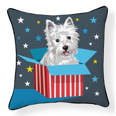 My New Westie Indoor/Outdoor Throw Pillow