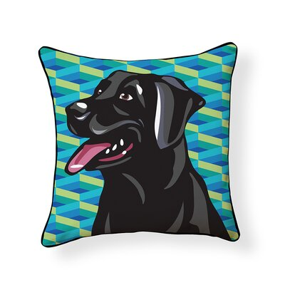 Pooch D�cor Labrador Indoor/Outdoor Throw Pillow