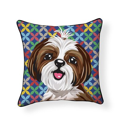 Pooch D�cor Shih Tzu Indoor/Outdoor Throw Pillow