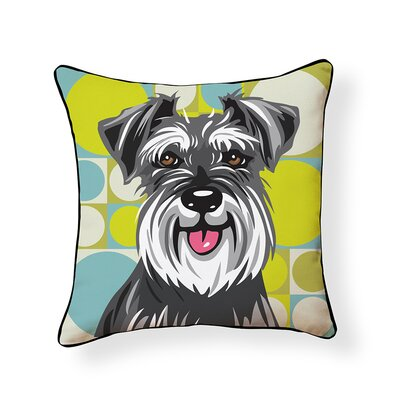 Pooch D�cor Schnauzeer Indoor/Outdoor Throw Pillow