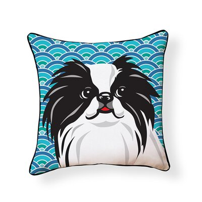 Pooch D�cor Japanese Chin Indoor/Outdoor Throw Pillow