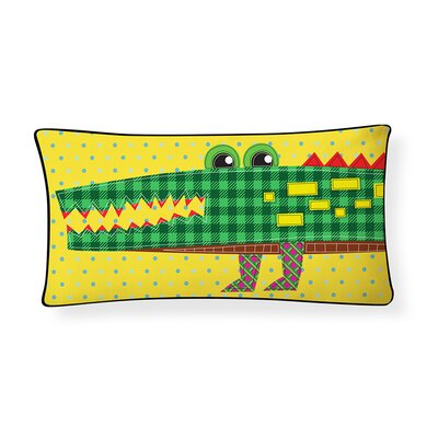 Crocodile Lumbar Pillow