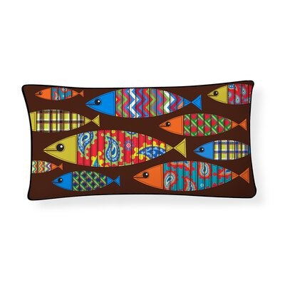 School of Fish Lumbar Pillow