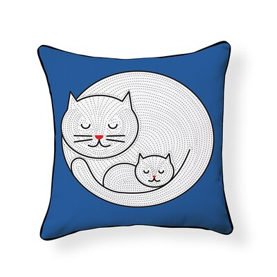 Little Kitty Throw Pillow