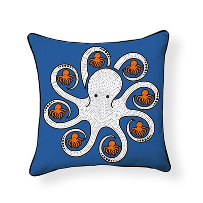 Little Octopus Throw Pillow