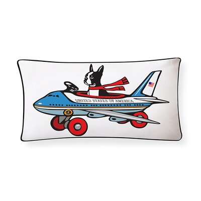 Boston for President Lumbar Pillow