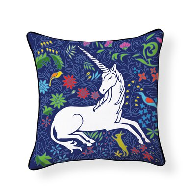 Atherstone Unicorn Outdoor Throw Pillow