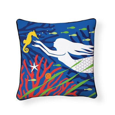 Penfield Mermaid Outdoor Throw Pillow