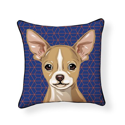 Pooch Chihuahua Outdoor Throw Pillow