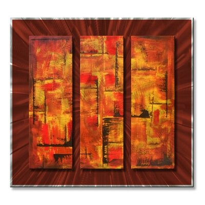 'Tapestry' by Roger Silva Painting Print Plaque 0082ME00020
